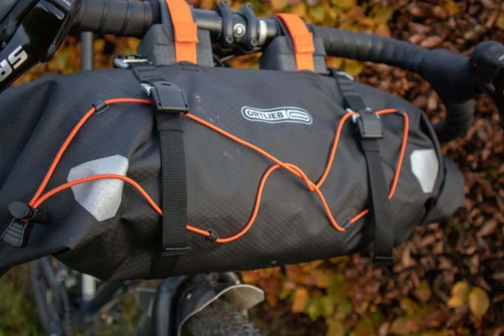 Ortlieb Handlebar Pack 15L Bikepacking handlebar bag mesh