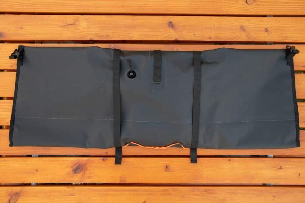 Ortlieb Handlebar Pack 15L Bikepacking handlebar bag rear