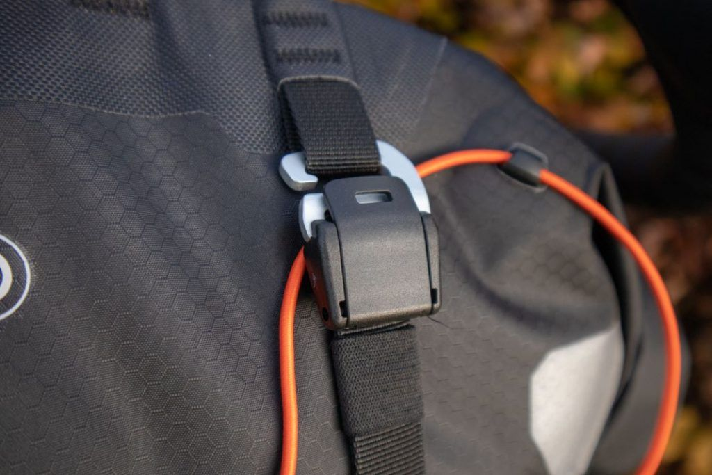 Ortlieb Handlebar Pack 15L hook for attachment