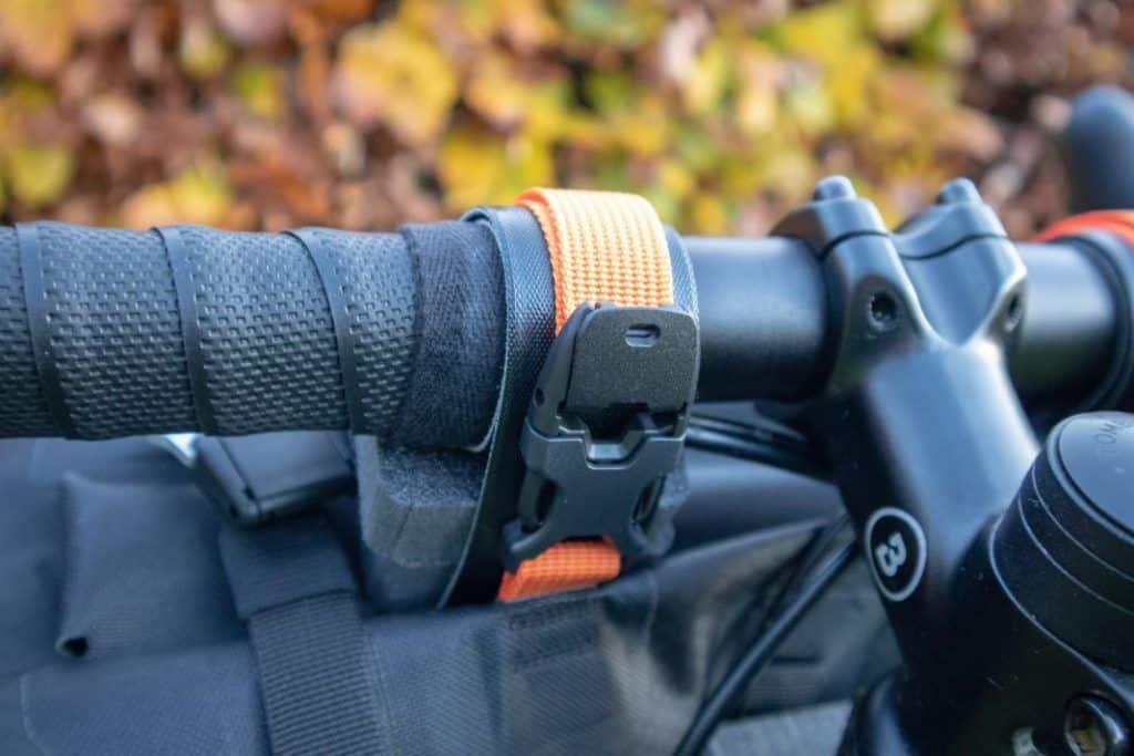 Ortlieb Handlebar Pack 15L Spacer und Gurte für Befestigung 6
