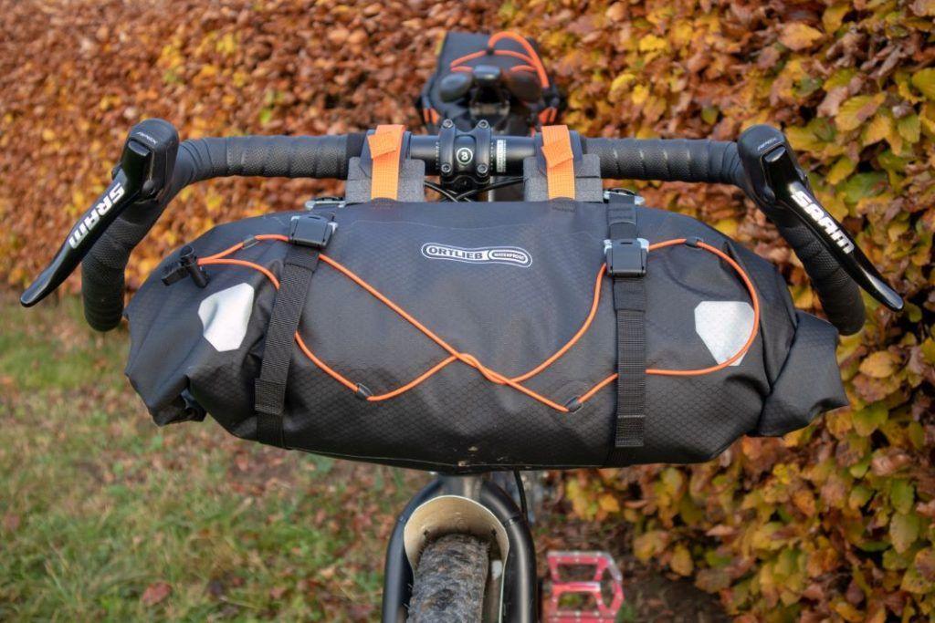 Ortlieb Handlebar Pack 15L Test Bikepacking Lenkertasche Gravel Bike