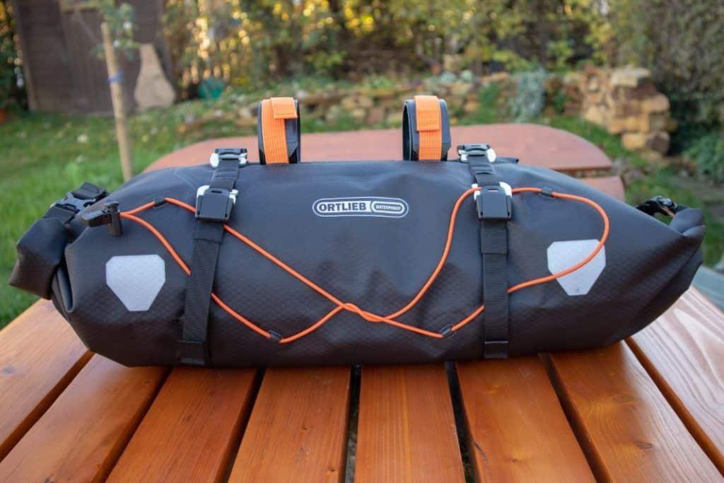 Ortlieb Handlebar Pack 15L Bikepacking handlebar bag test