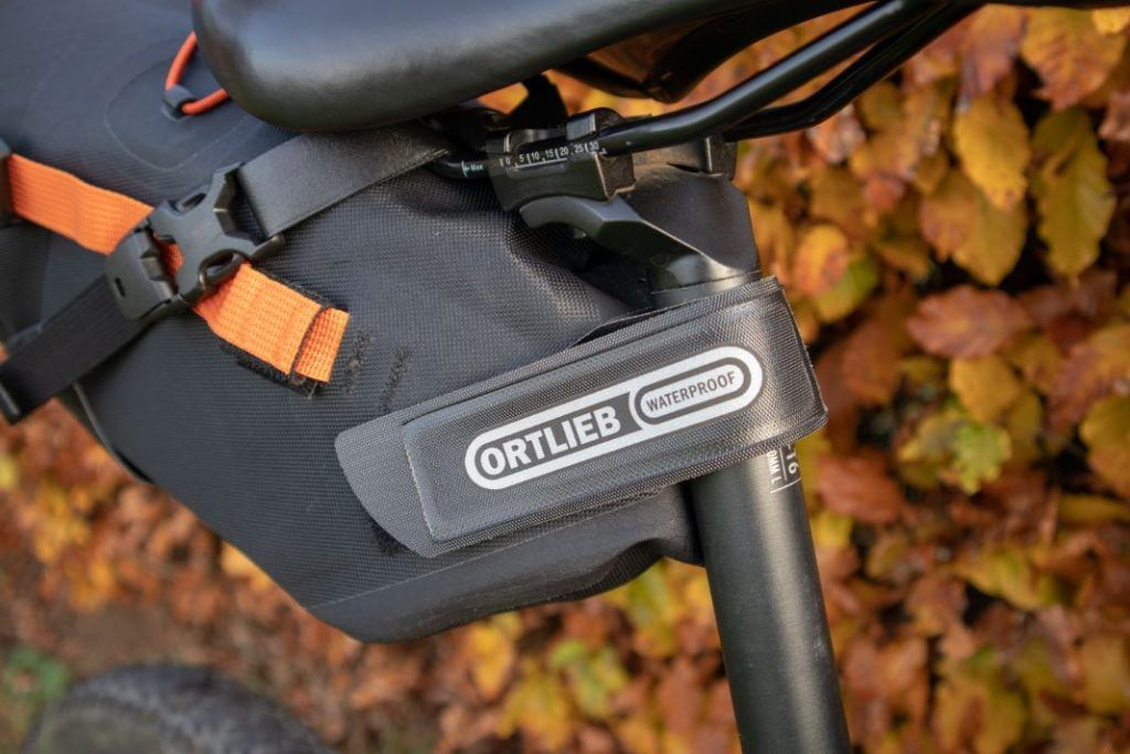 Ortlieb Seat Pack 11L attachment to the bike