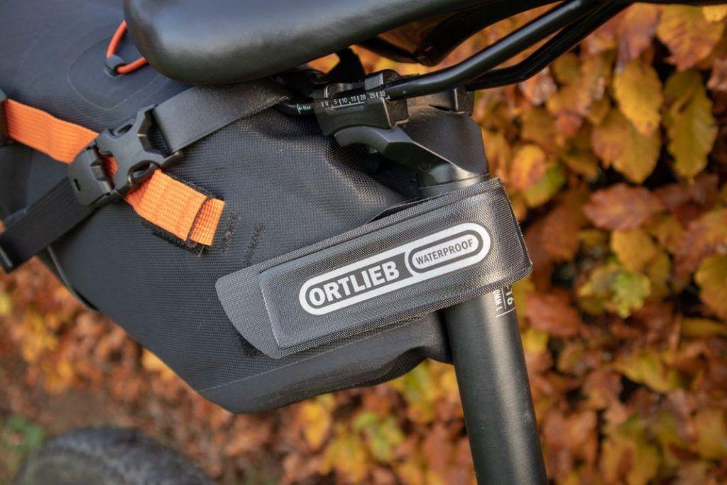 Ortlieb Seat Pack 11L Befestigung am Fahrrad