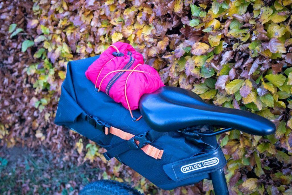 Ortlieb Seat Pack 11L Erfahrungen praktisches Netz 1