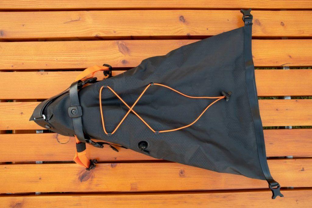 Ortlieb Seat Pack 11L Satteltasche von oben
