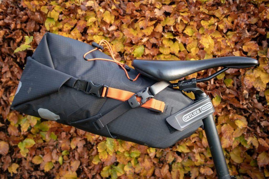 Ortlieb Seat Pack 11L Test Experiences Bikepacking Saddle Bag