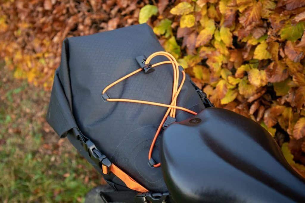 Ortlieb Seat Pack 11L Test praktisches Netz