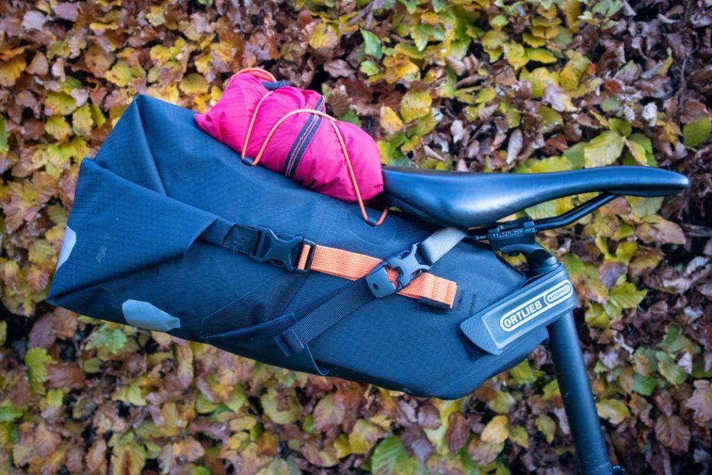 Ortlieb Seat Pack 11L Test praktisches Netz 2