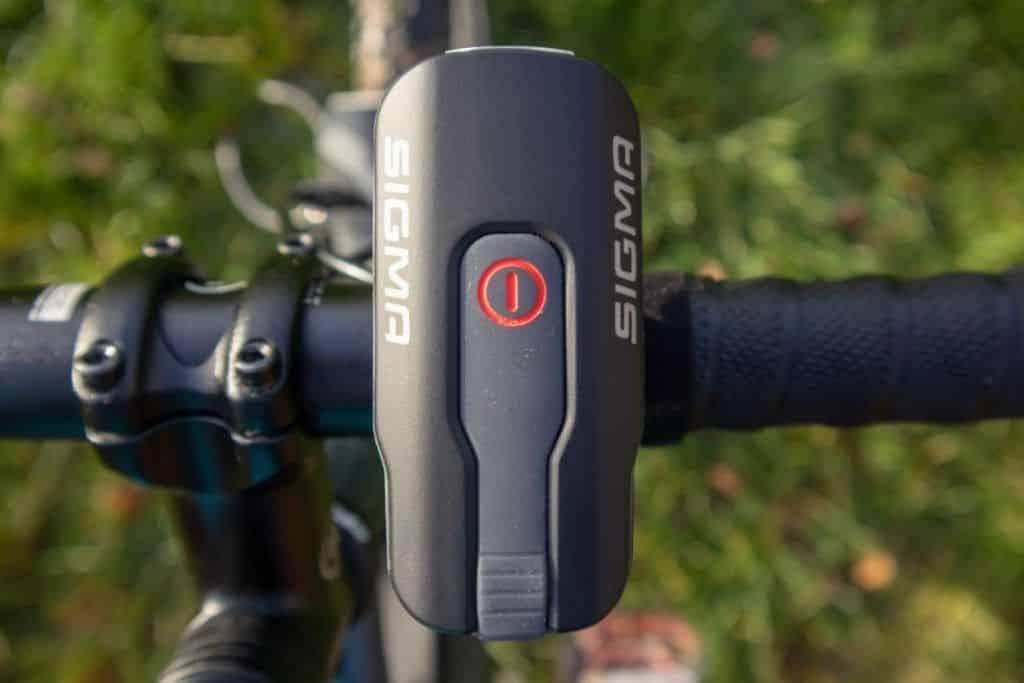 Sigma Aura 60 Test Handhabung vom Fahrradlicht