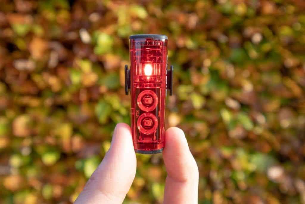 Sigma Aura 80 Blaze Fahrrad Rücklicht leuchtet