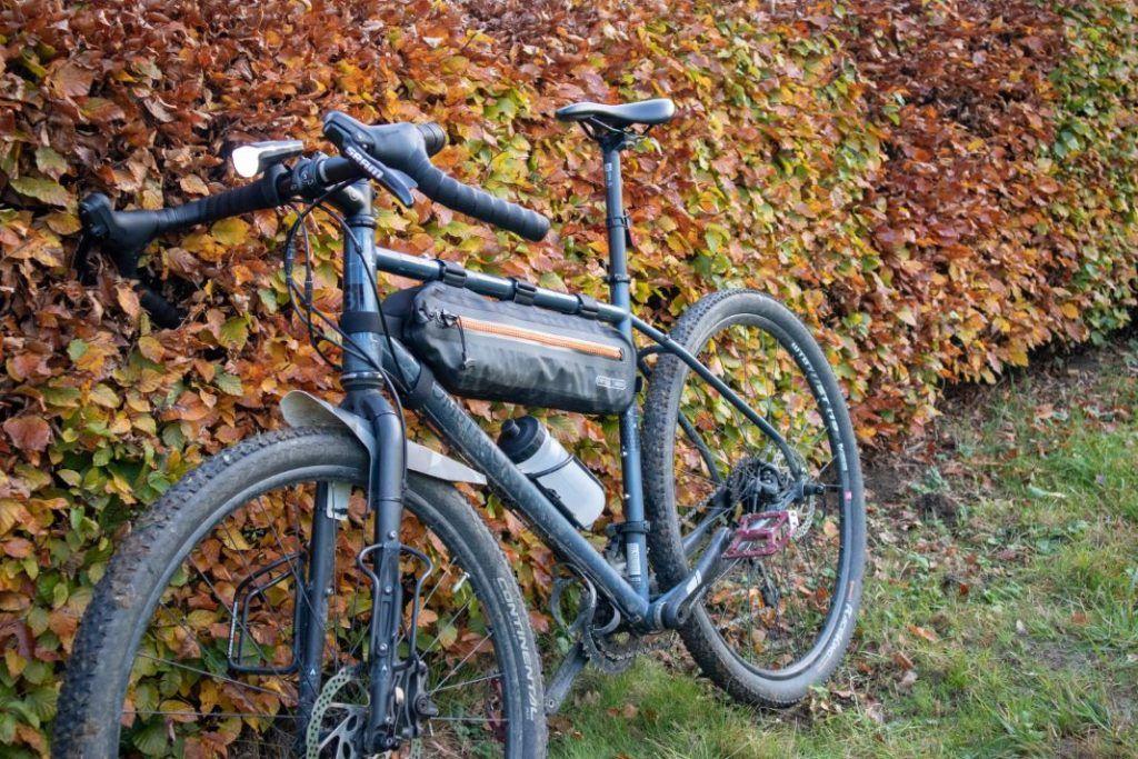 Sigma Aura 80 Set Fahrradlicht am Fahrrad montiert