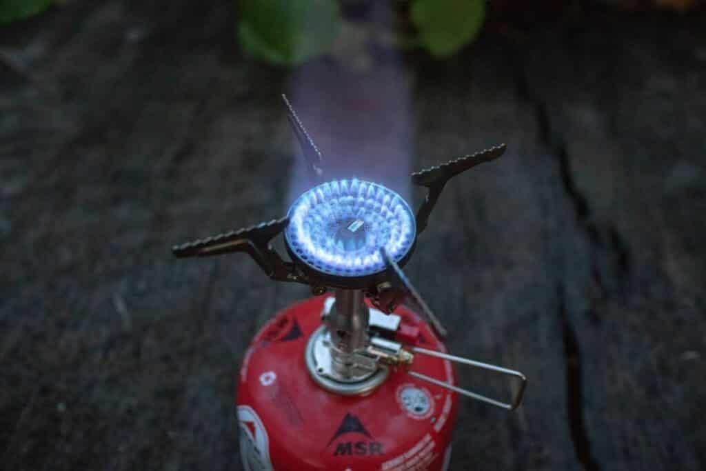 Soto Amicus Erfahrungen Outdoor Gaskocher mit blauer Flamme
