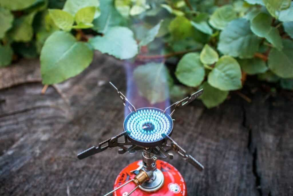 Soto Windmaster Test - Soto Kocher mit blauer Flamme