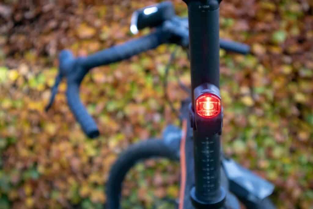 Trelock LS 720 Reego Test Fahrrad Rücklicht