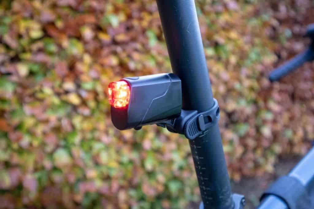 Trelock LS 720 Reego Test Reego Rücklicht Fahrradlicht
