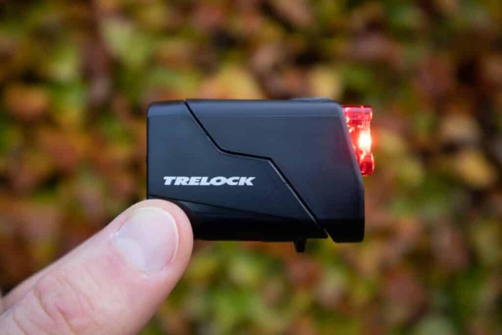 Trelock LS 720 Reego Test Rücklicht rechts