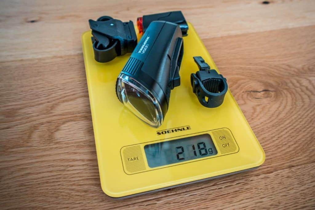 Trelock LS 760 I-GO Vision Gewicht Fahrradbeleuchtung Set