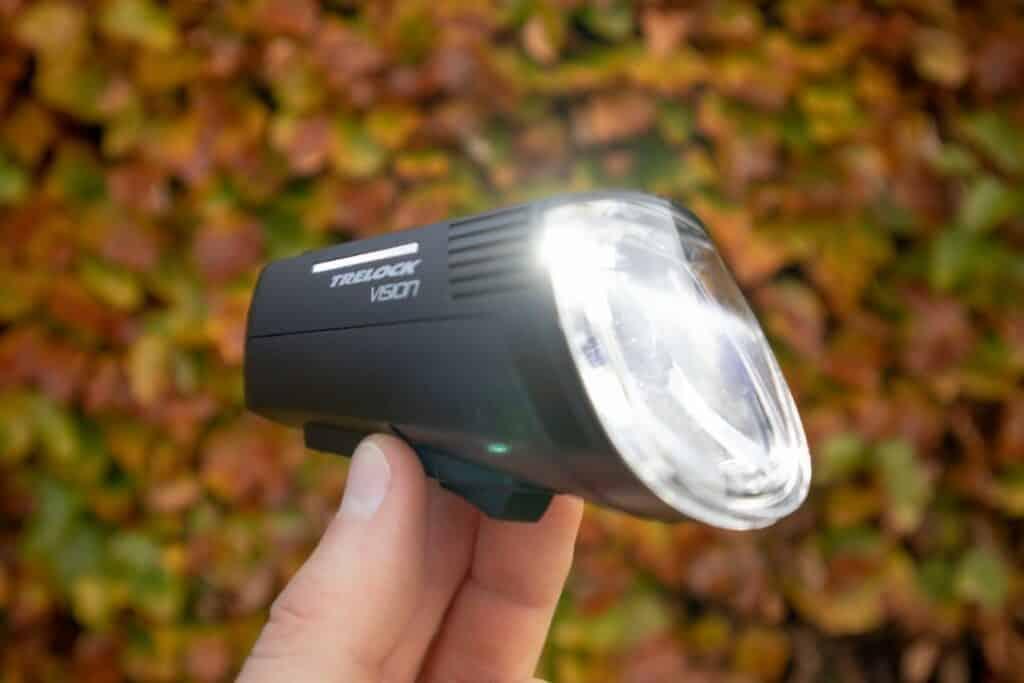 Trelock LS 760 I-GO Vision Test LED Fahrradbeleuchtung Radlicht diagonal