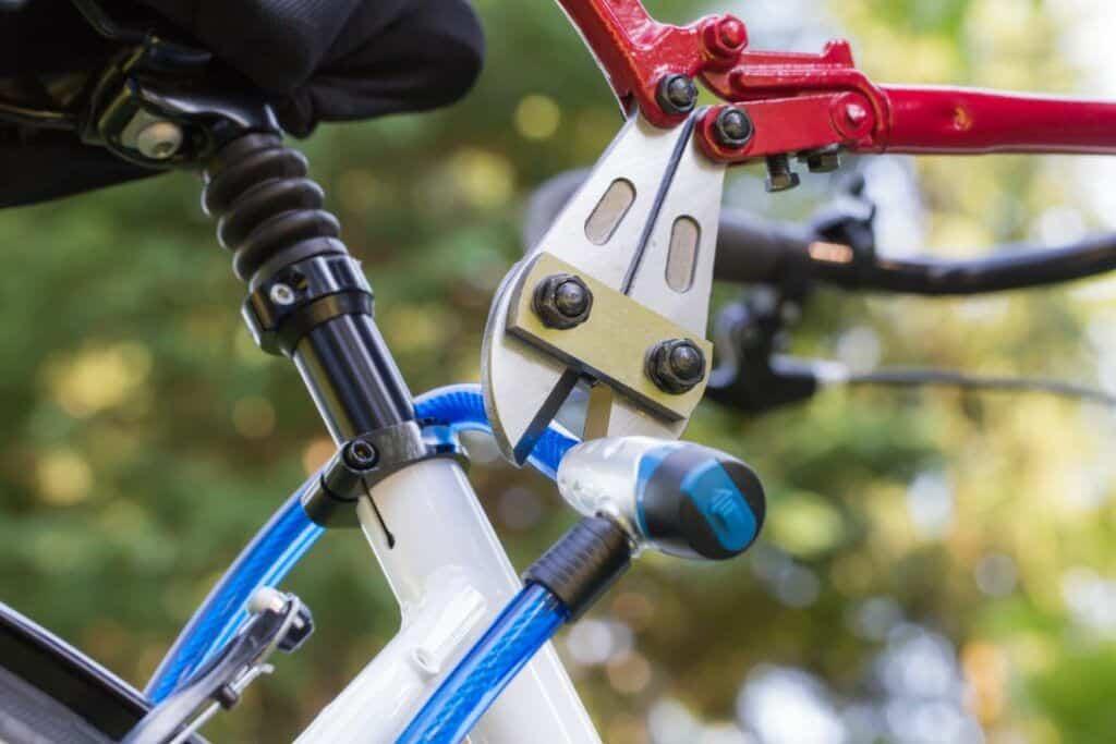 Fahrradschloss Test Sicherheit diebstahlsicher Bolzenschneider knacken