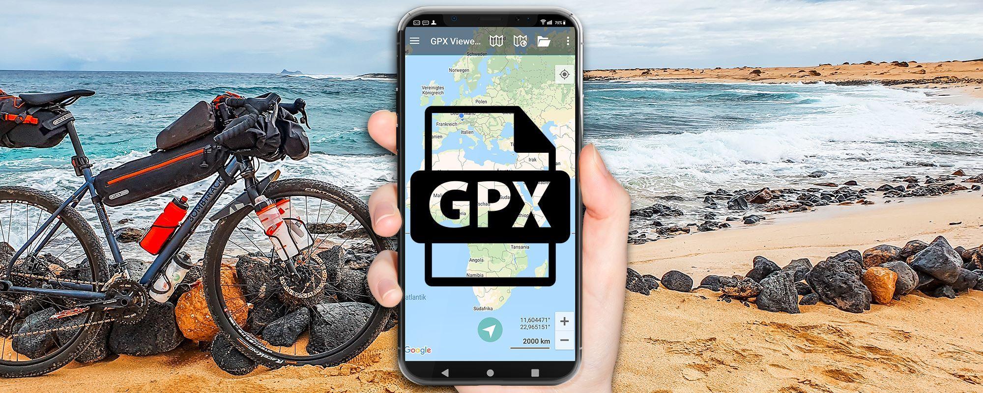 GPX Datei: Öffnen & navigieren mit Android - 3 Apps mit denen es sofort funktioniert