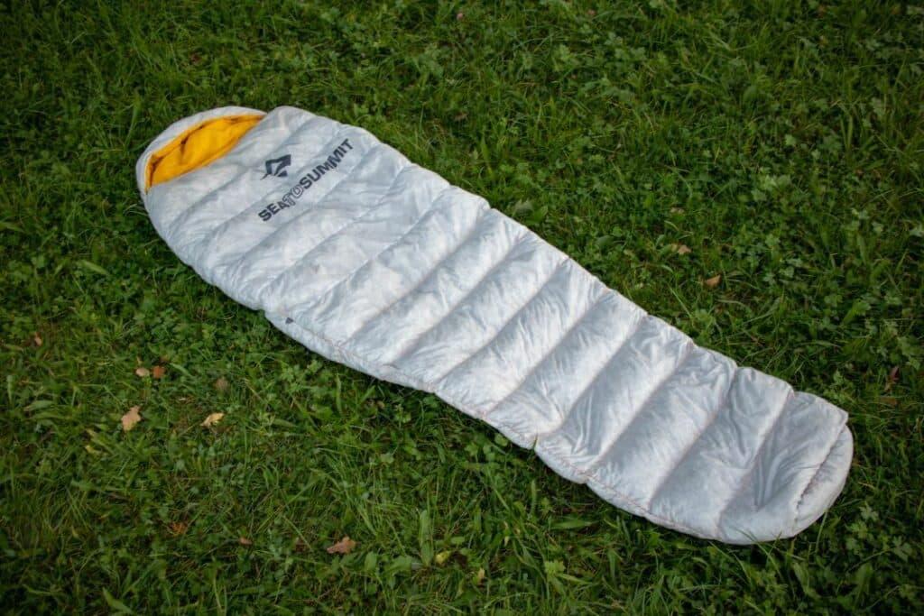 Sea to Summit Spark 2 Ultraleicht Schlafsack Test