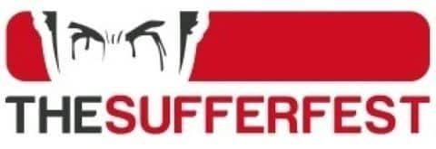 Wahoo the Sufferfest Logo Smart Fahrrad Rollentrainer Test