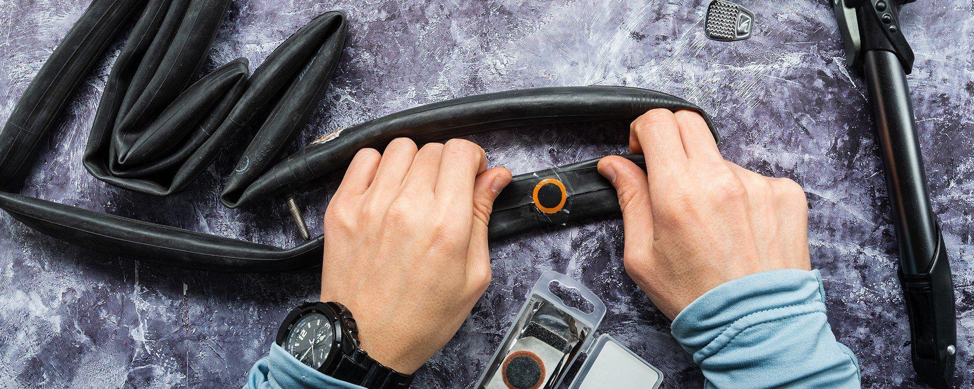Fahrradschlauch flicken & wechseln: einfach Schritt-für-Schritt den Fahrradschlauch reparieren