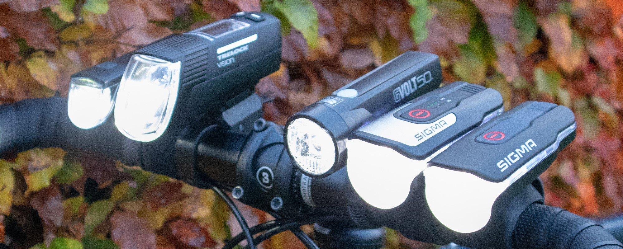 Fahrradbeleuchtung Test 2021 - Es werde Licht: 5 der besten StVZO-zertifizierten Fahrradlampen im Praxistest
