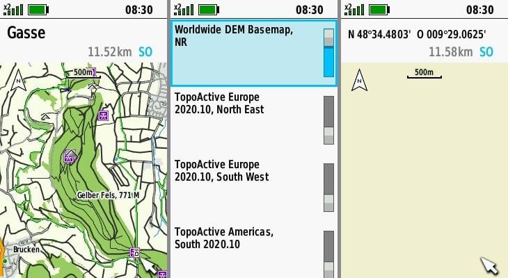 Garmin gpsmap 66sr topoactive europe kartenmaterial 2