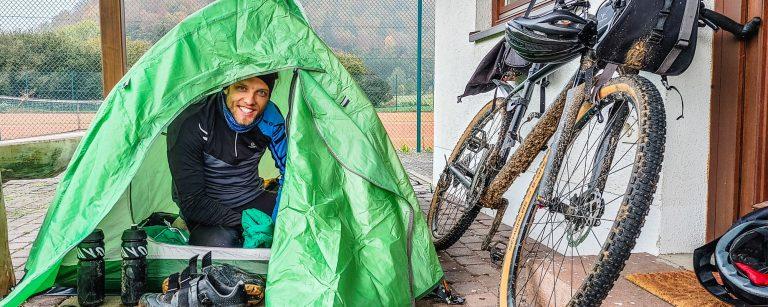 bikepacking overnighter ausrüstung