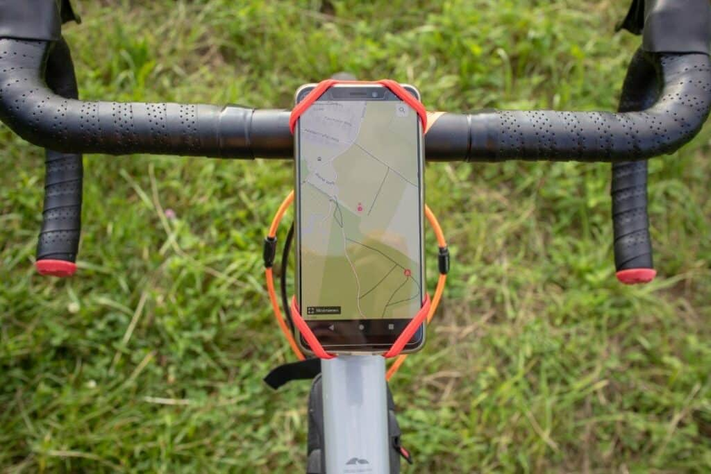 bone collection fahrrad smartphone