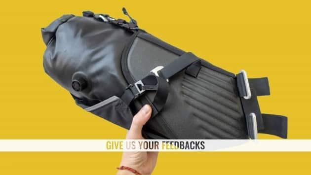 decathlon bikepacking packliste satteltasche