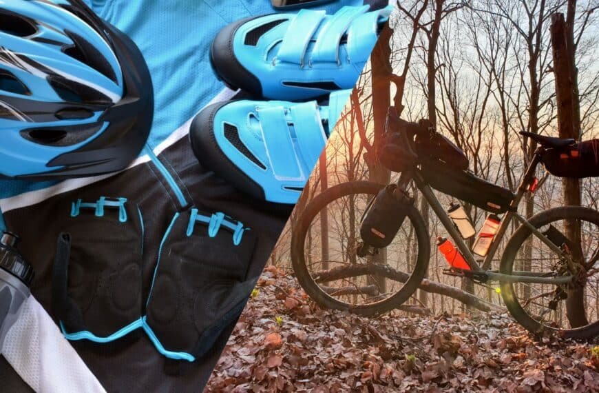 Komplette Decathlon Packliste für Bikepacking
