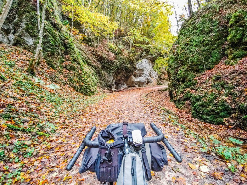 fahrrad tour im tal
