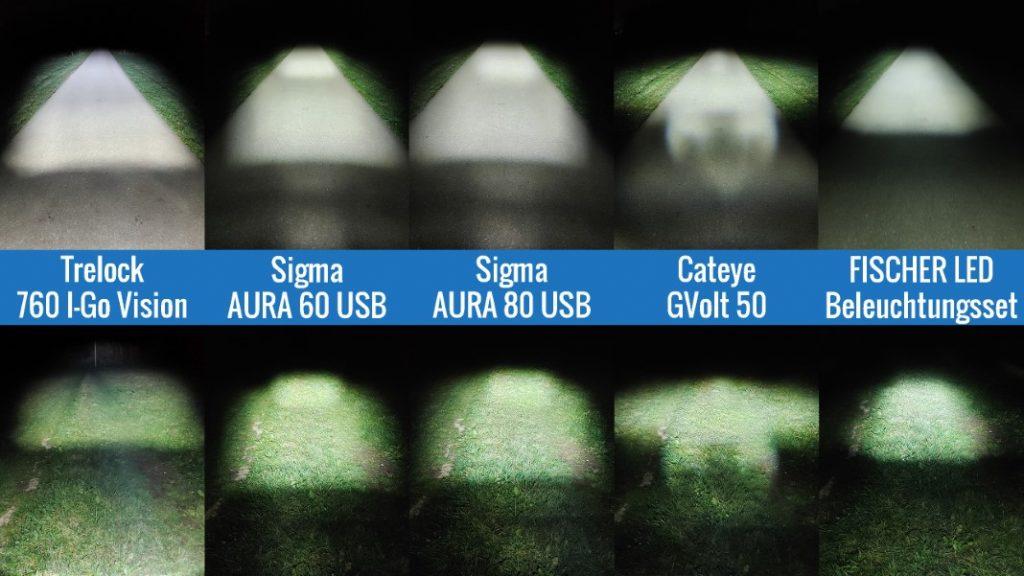 fahrradbeleuchtung test alle fahrradlampen