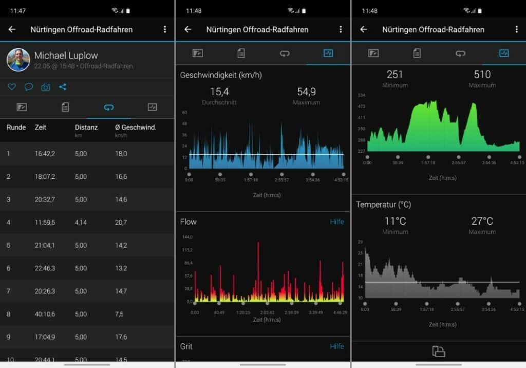 garmin edge 1030 plus test garmin connect mobile app 2