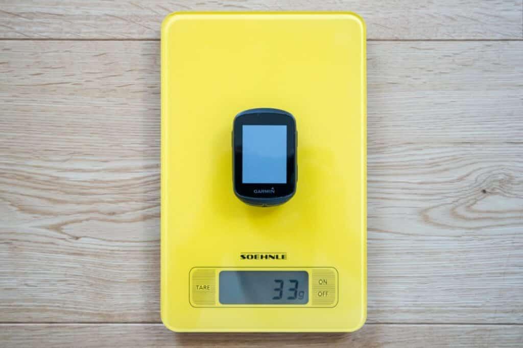 garmin edge 130 plus gewicht