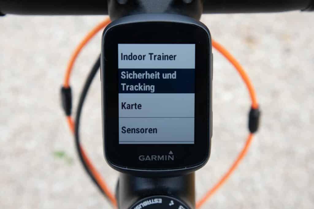 garmin edge 130 plus sicherheit und tracking