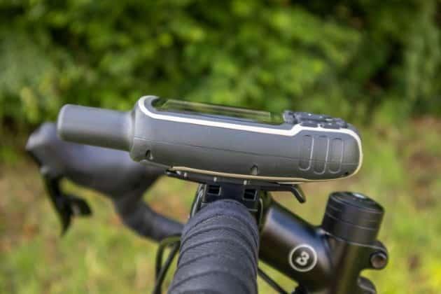 garmin gpsmap 64sx fahrradhalterung links