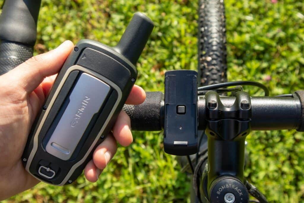 garmin gpsmap 64sx fahrradhalterung montage