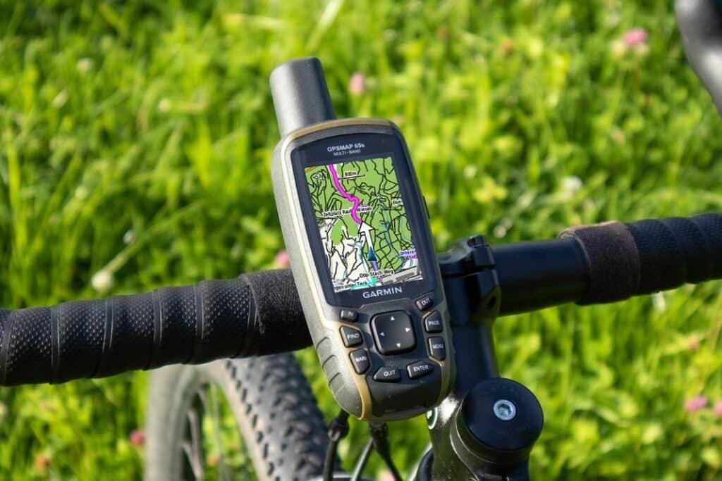 garmin gpsmap 65s fahrrad