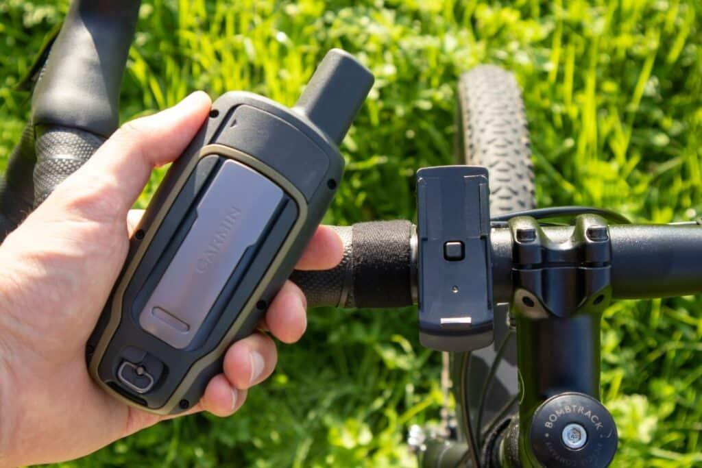 garmin gpsmap 65s fahrradhalterung montage