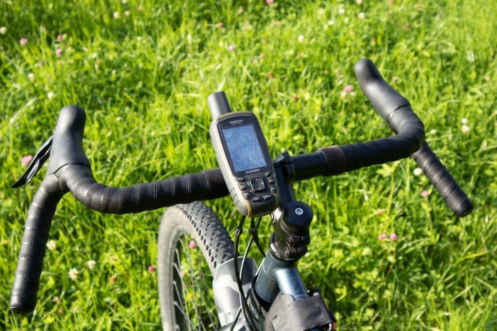 garmin gpsmap 65s test fahrradhalterung befestigt