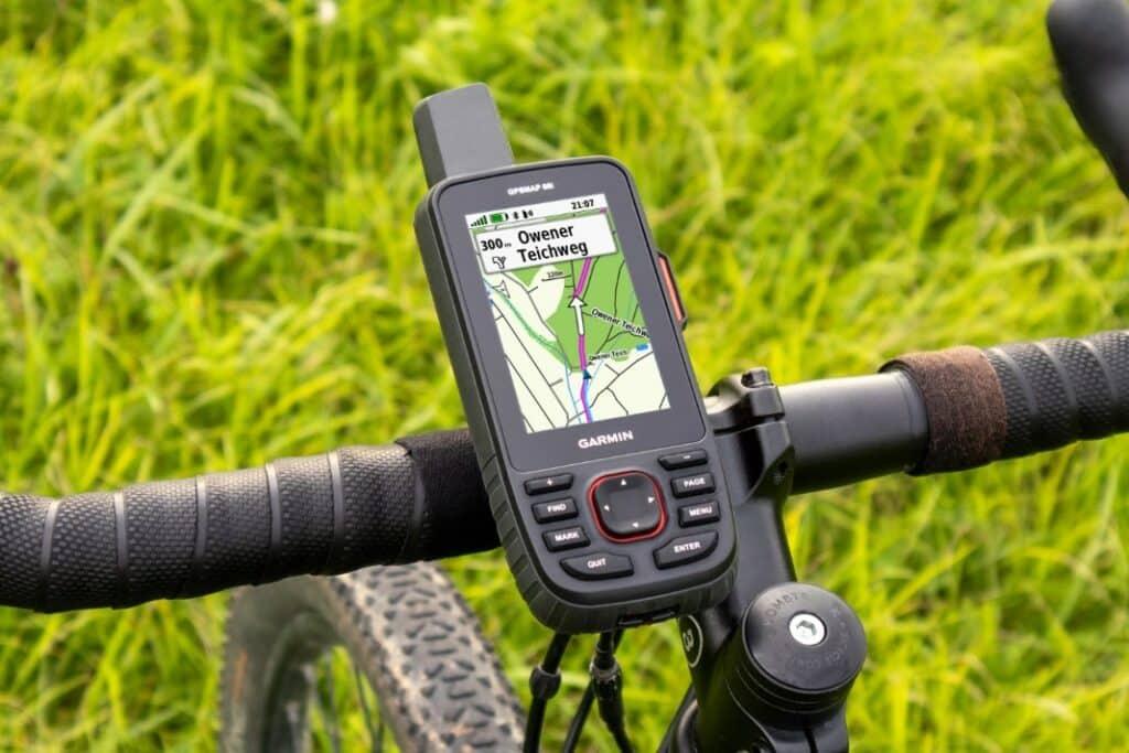 garmin gpsmap 66i fahrrad
