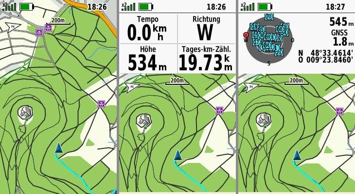 garmin gpsmap 66sr datenfelder
