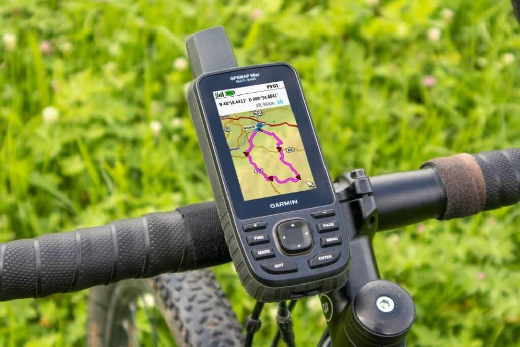 garmin gpsmap 66sr fahrrad