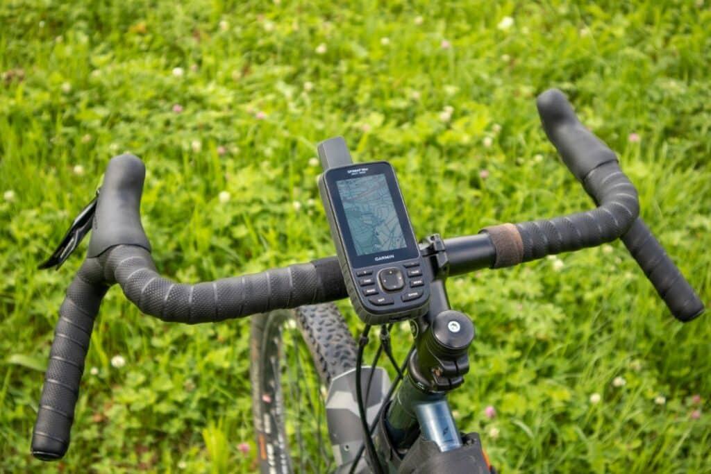 garmin gpsmap 66sr fahrradhalterung stabilität