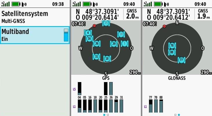 garmin gpsmap 66sr gps multi band
