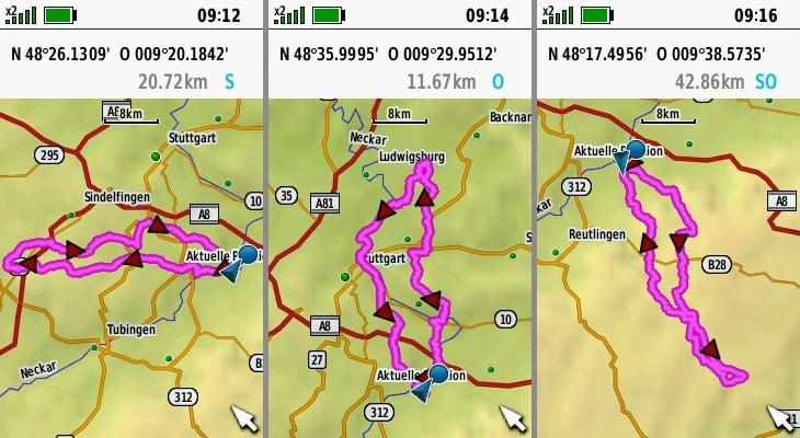 garmin gpsmap 66sr navigation roundtrip-routing